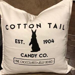 Cotton Tail Pillow Cover